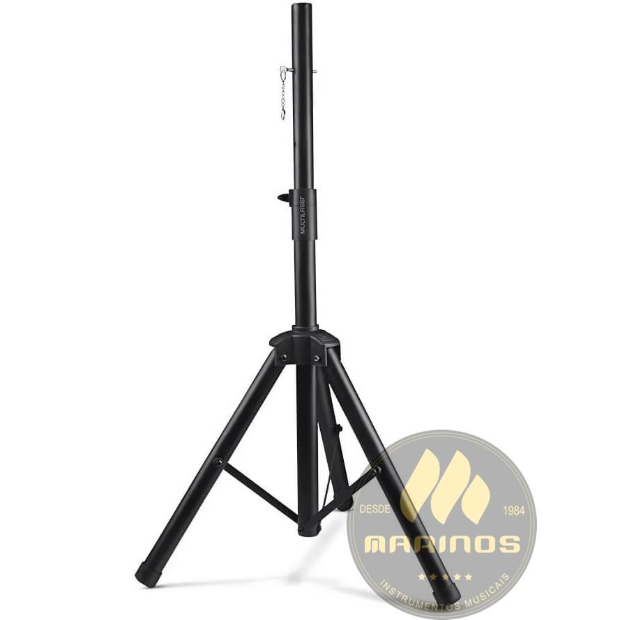 Suporte Tripé MULTILASER Caixa de Som Altura Regulável 120 cm Sp264