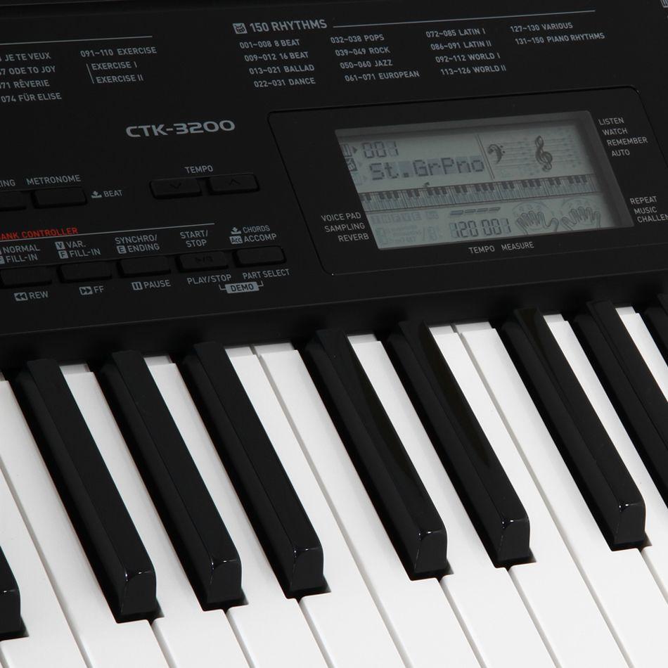 Teclado Casio Arranjador CTK 3200