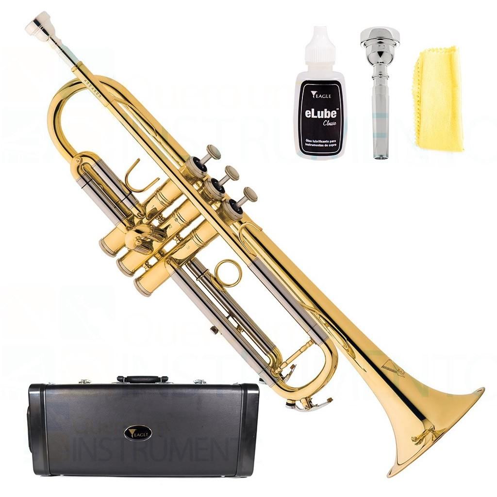 Trompete EAGLE Sib TR504 Laqueado