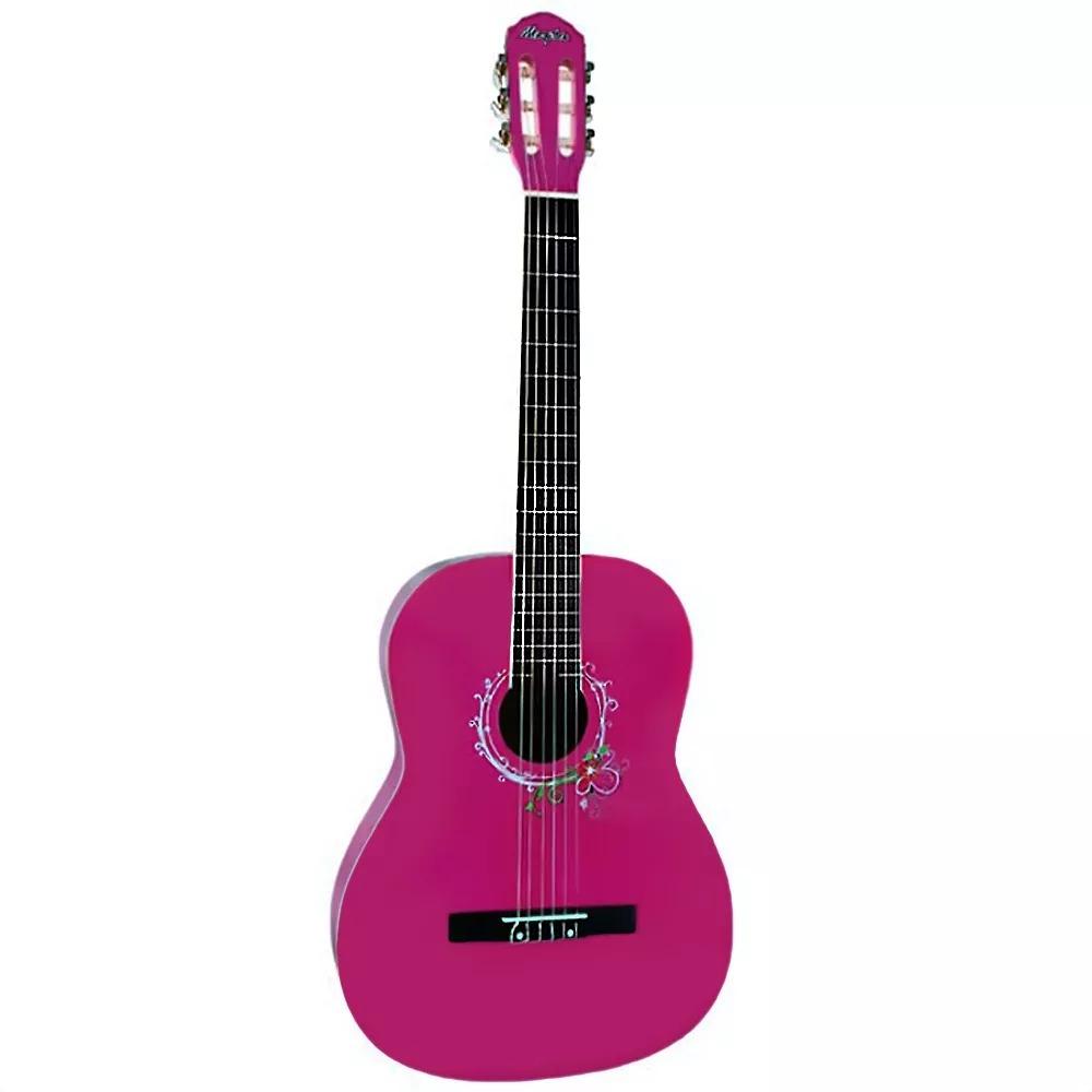 Violão MEMPHIS Tagima Náilon Acústico AC 39 PK Pink