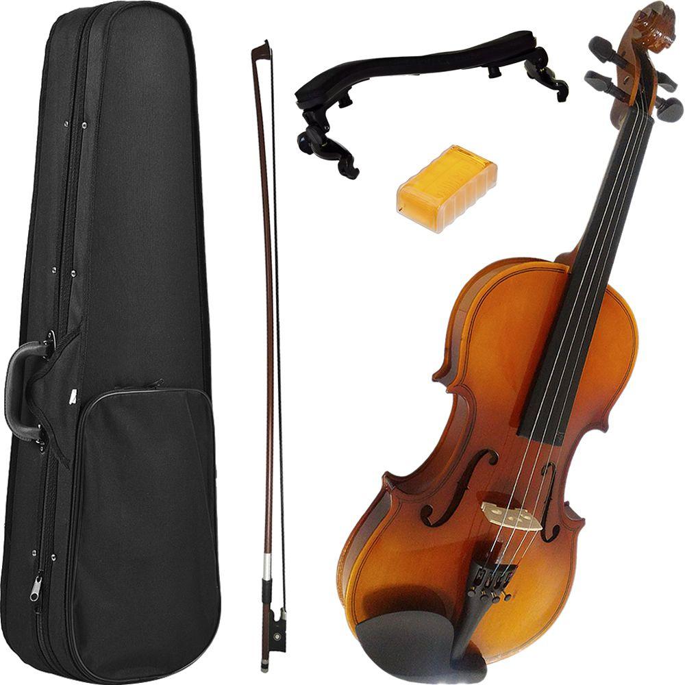 Violino MARINOS 4/4 MV-44 Prelude + Espaleira MEA-056