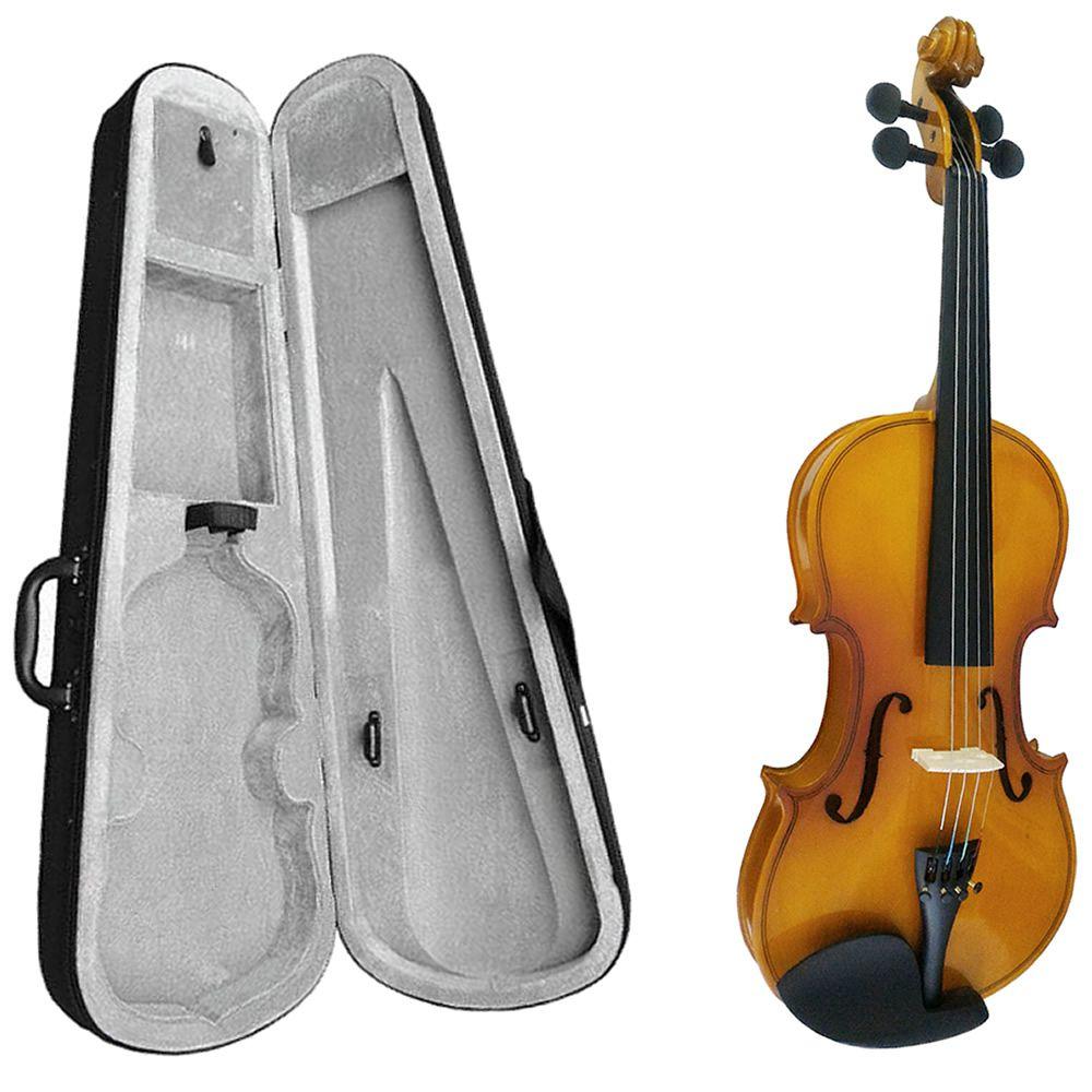 Violino MARINOS 4/4 MV-44 Suzuki + Espaleira MEA-050 Vinho