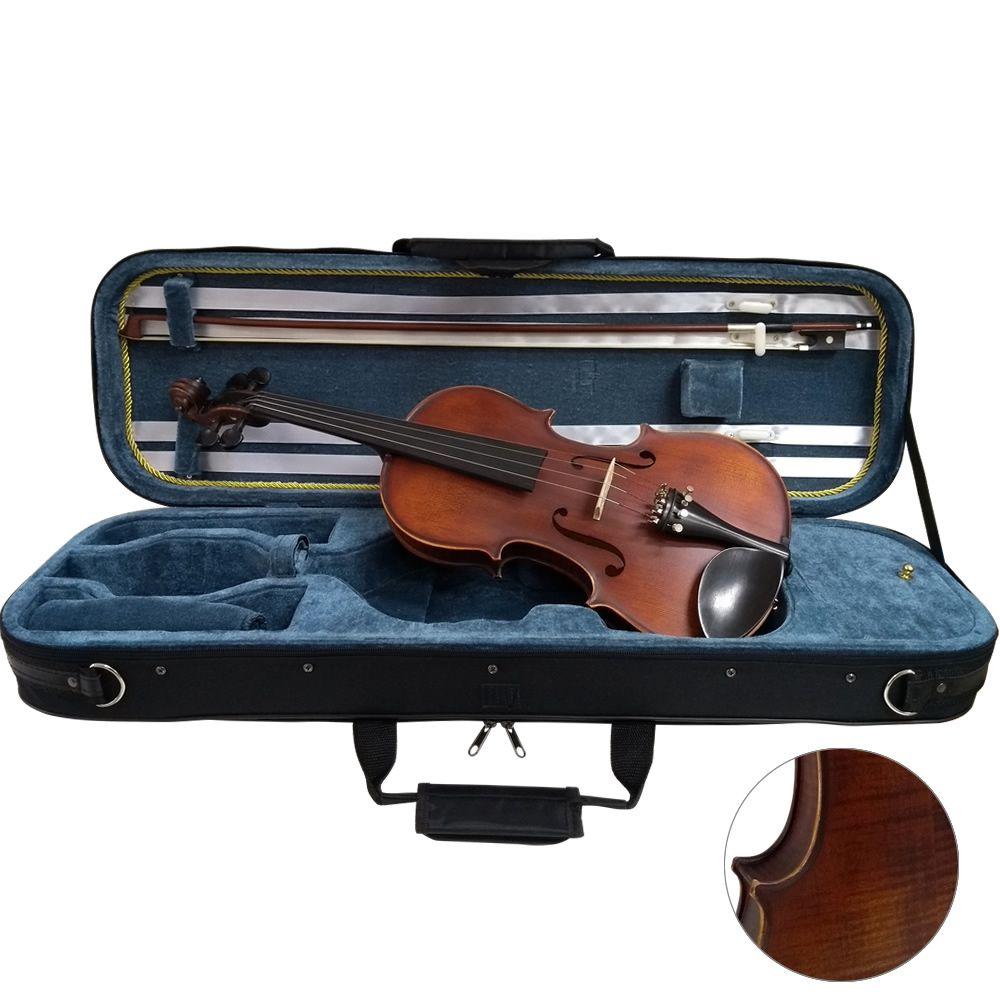 Violino MARINOS Estojo Luxo 4/4 MV-644 Cremona Flame
