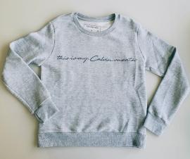 Blusão moleton Calvin Klein