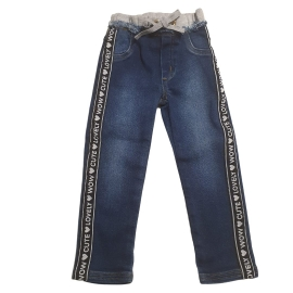 Calça jeans moletom Anime Petit