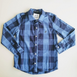 Camisa manga comprida xadrez Johnny Fox