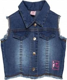 Colete Jeans Momi Mini