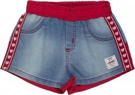 Shorts Logomania Animê Petite