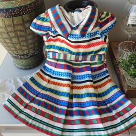 Vestido listras 1+1