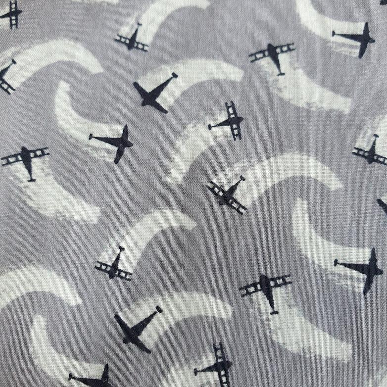 Camisa manga longa estampa aviões Puc