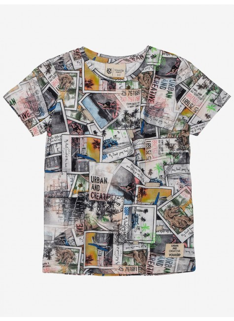 Camiseta Polaroid Adventures Youccie