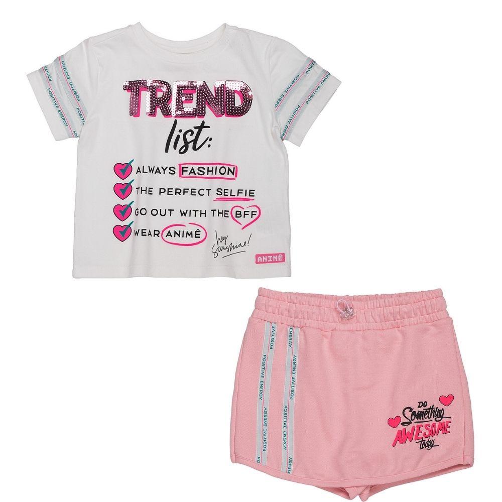Conjunto Trend Animê Petite