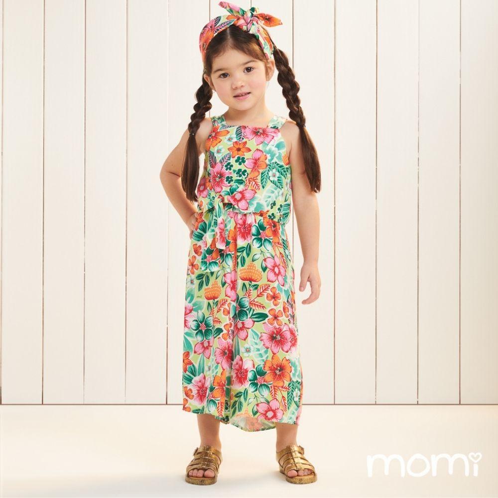 Macaquinho Floral Momi Mini