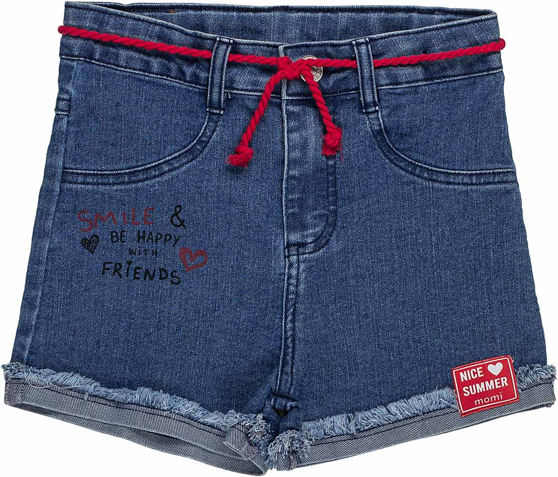 Shorts Cadarço Momi