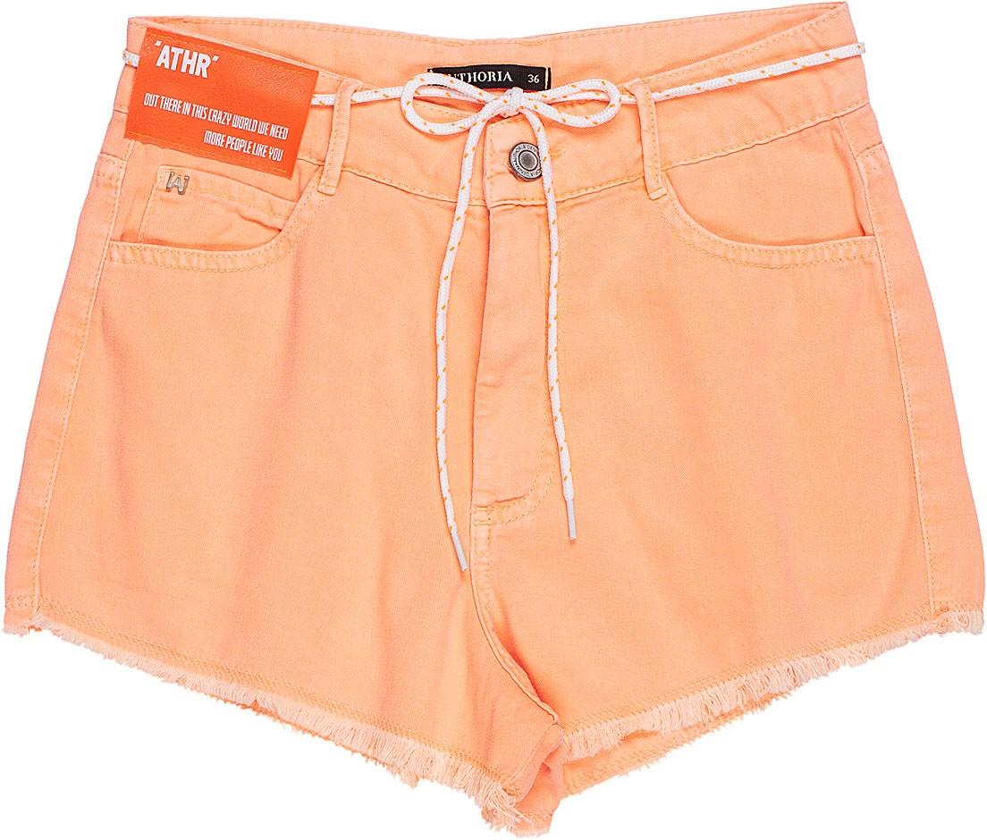 Shorts Laranja Authoria