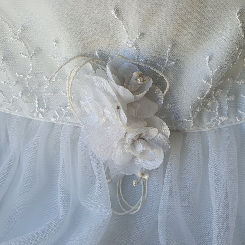Vestido branco Beth Bebe
