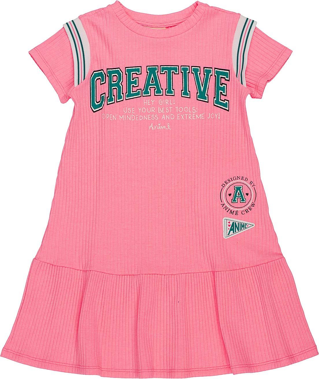 Vestido Creative Animê Petite