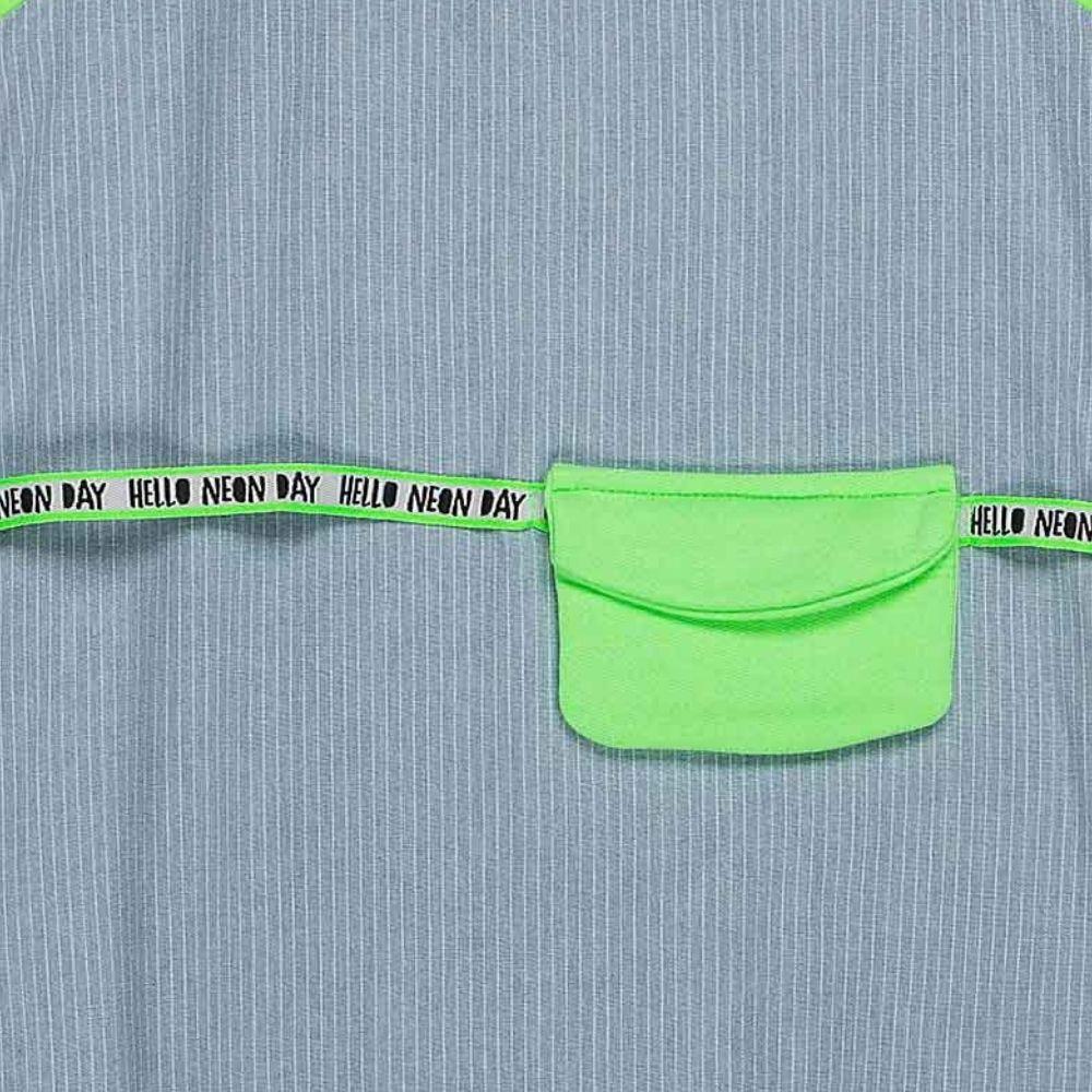 Vestido Jeans Neon Momi