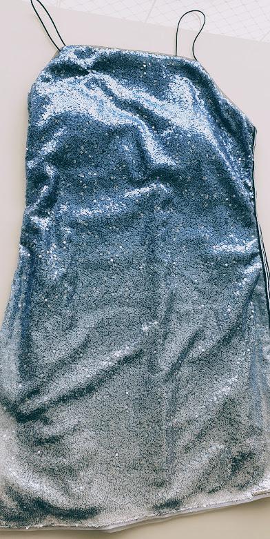 Vestido Paete Degrade