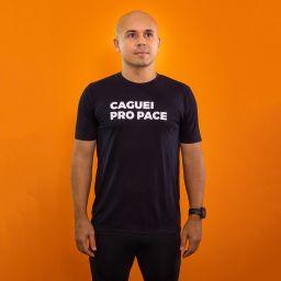 Camiseta Masculina Longão - Caguei pro Pace