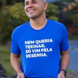 Camiseta Masculina Longão - Só Vim Pela Resenha