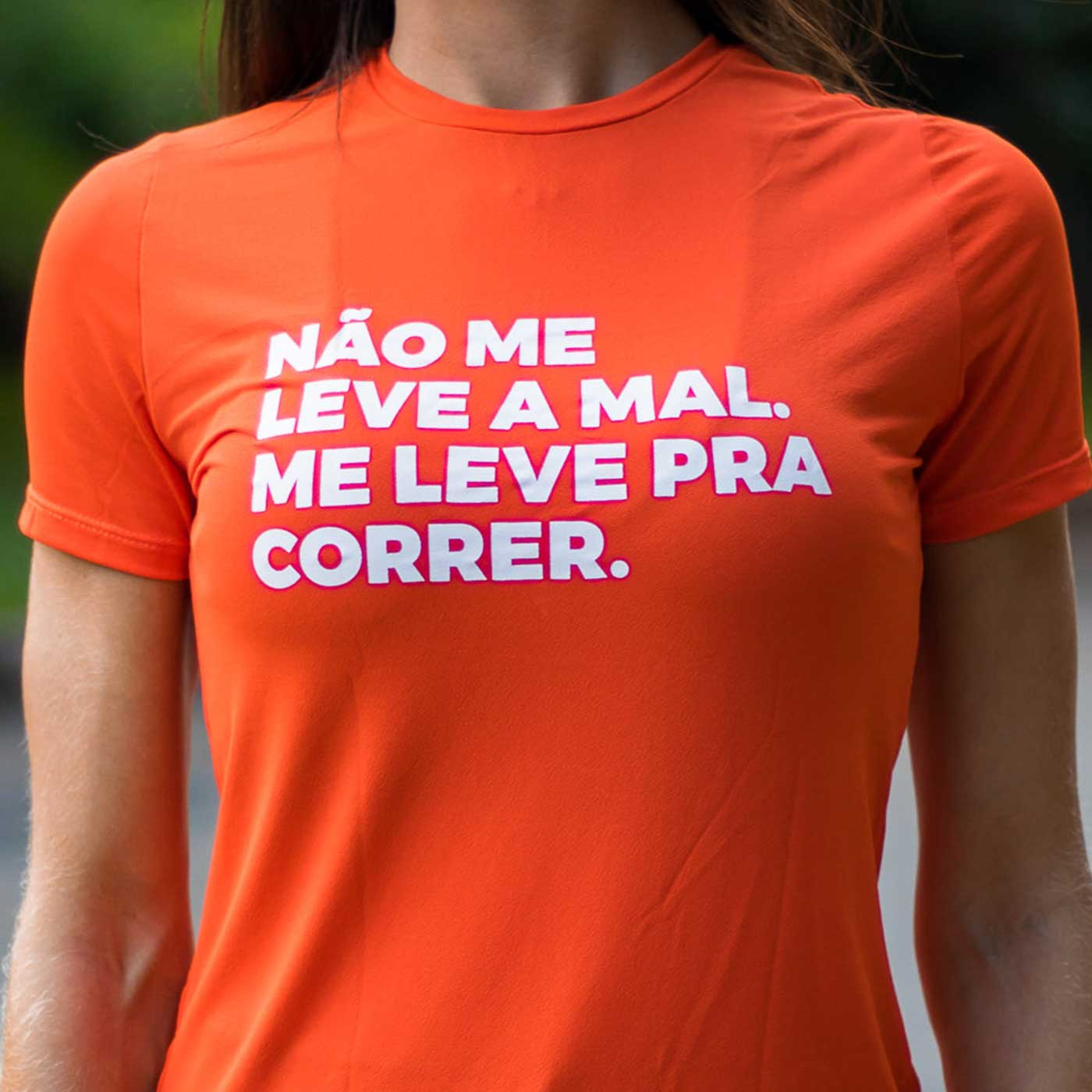Camiseta Feminina Longão - Não Me Leva A Mal