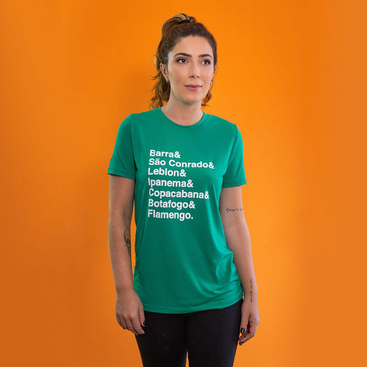 Camiseta Feminina Longão - Meia Maratona do Rio