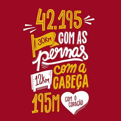 Camiseta Masculina Longão - Maratona 42.195