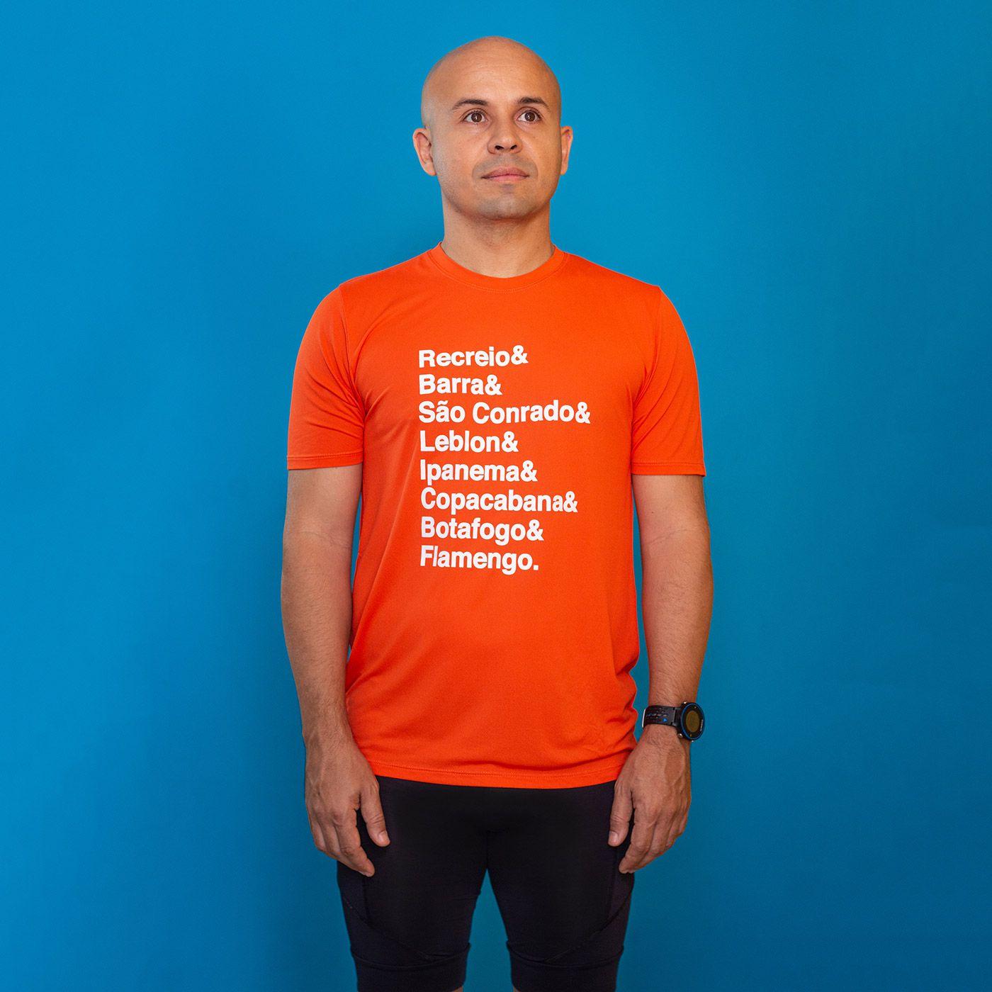 Camiseta Masculina Longão - Maratona do Rio