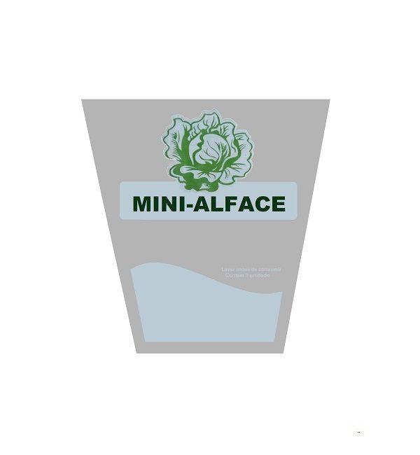 EMBALAGEM HORTIBRAS MINI ALFACE - 24X14X25/30
