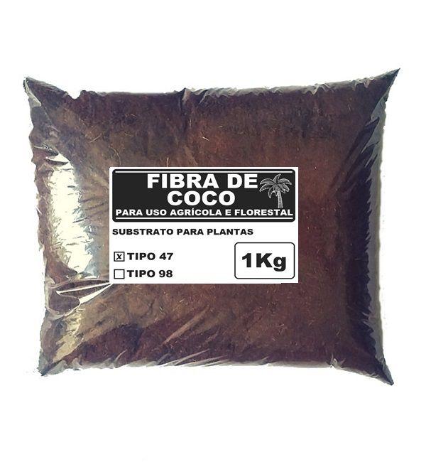 FIBRA DE COCO TIPO 47 PARA MUDAS 1KG - AMAFIBRA