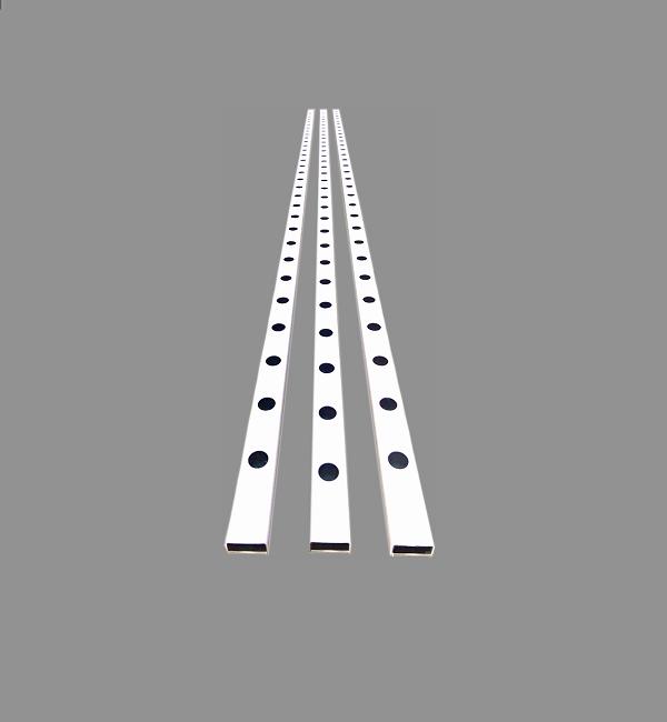 PERFIL 80X40MM ALFACE  BARRA 3M - HORTIBRAS