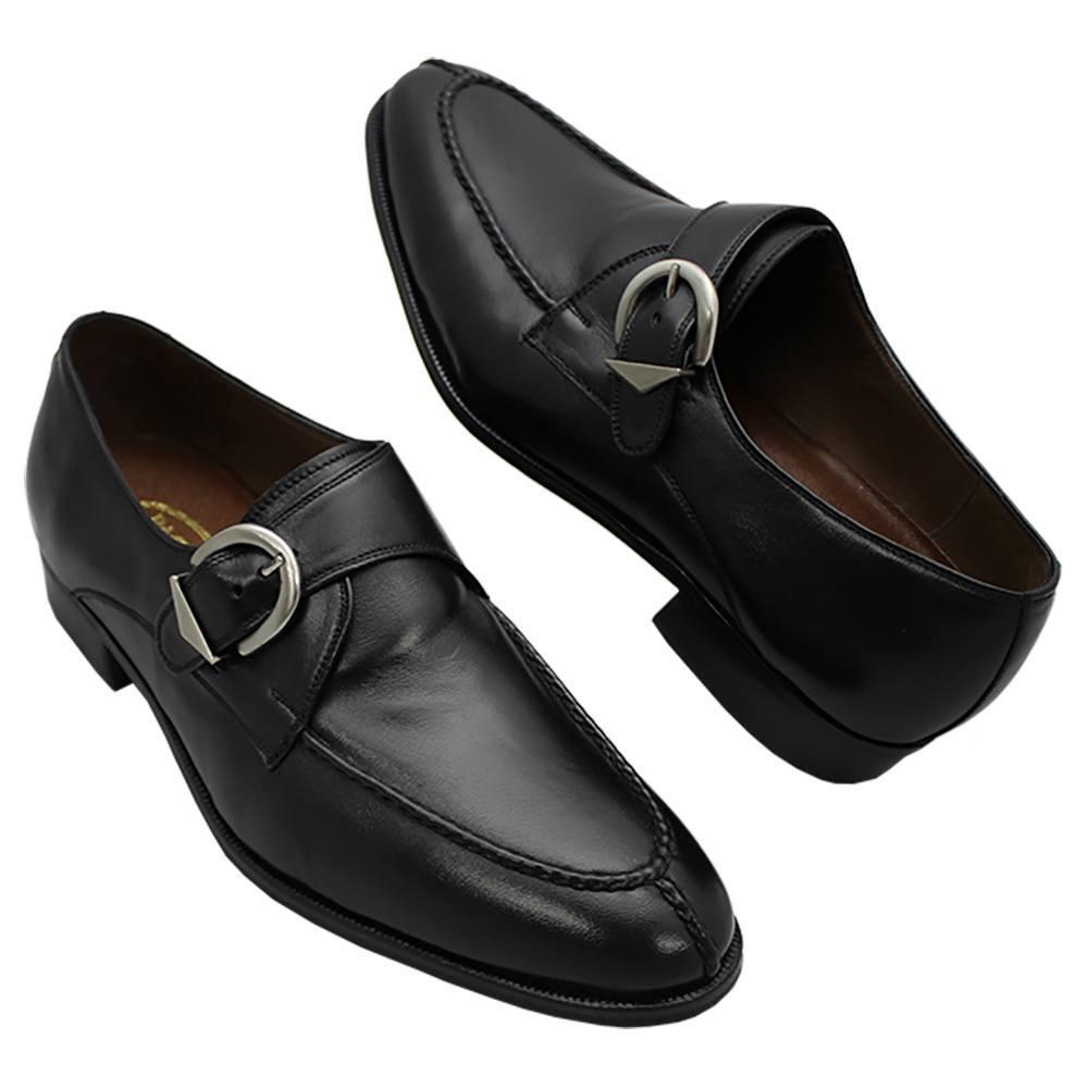 Sapato Masculino Social Monk cor Preto 058MACPRE