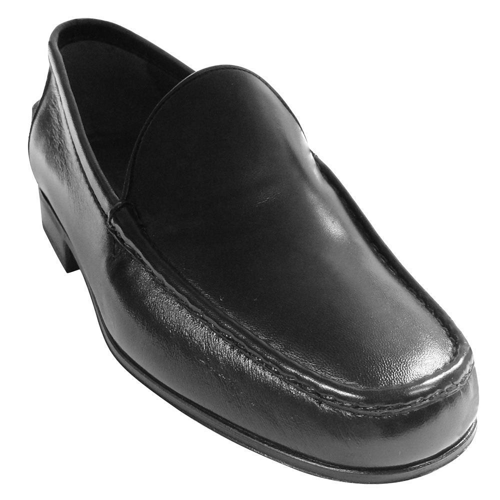Sapato Masculino Mocassim  Social Fôrma Larga 099MLPRE
