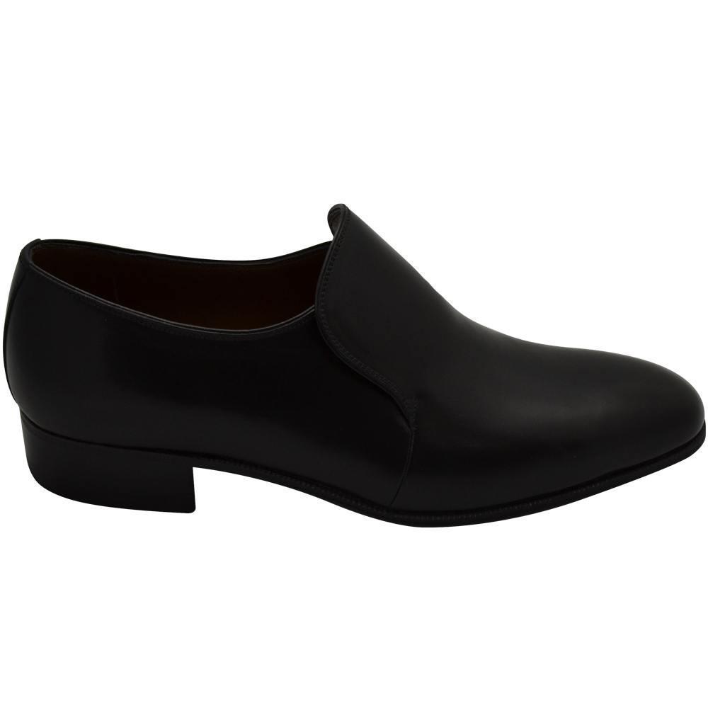 Sapato Masculino Social em Cromo Alemão cor Preto 110LPRE