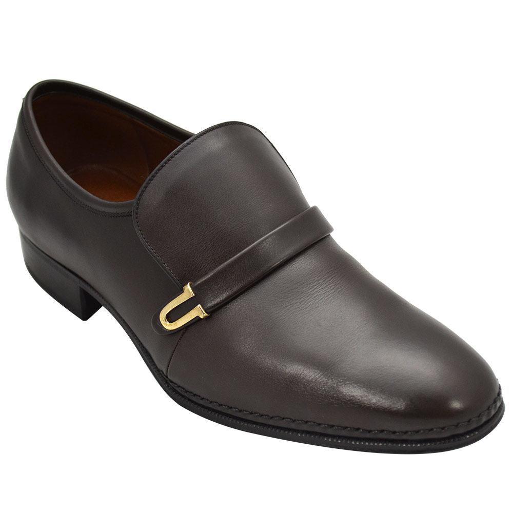 Sapato Masculino Social Clássico cor Marrom Café 110NCRCAF