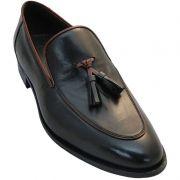 Sapato Masculino Tassel Loafer cor Preto 236PRE
