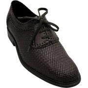 Sapato Masculino Confortável em Tresse cor Marrom Café 02TRMAR