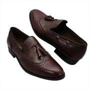 Sapato Masculino Brogue Tassel Loafer 015GR