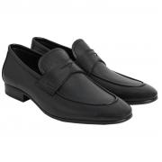Sapato Masculino Loafer Confortável cor Preto 996MPRE Confort