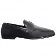 Sapato Masculino Mocassim Flexível cor Preto 050/600PRE Flex