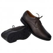 Sapato Masculino Social Derby Solado em Borracha 29751CAF