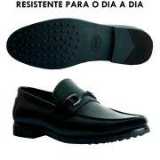 Sapato Masculino Loafer Ótimo para o dia a dia cor Preto 111BDPRE