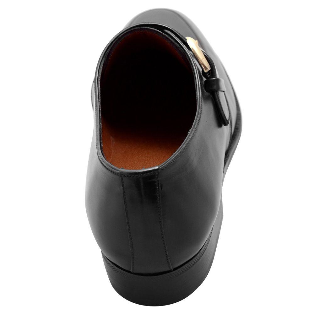 Sapato Masculino Social Monk em Cromo Alemão 290LVPRE