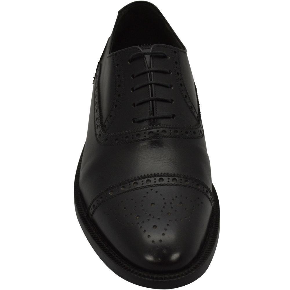 Sapato Masculino Oxford Half Brogue Preto 299INGPRE