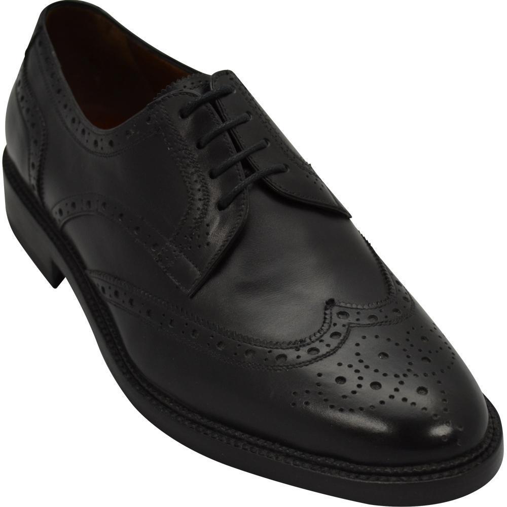 Sapato Masculino Brogue em Cromo Alemão Solado Duplo 301CRPRE