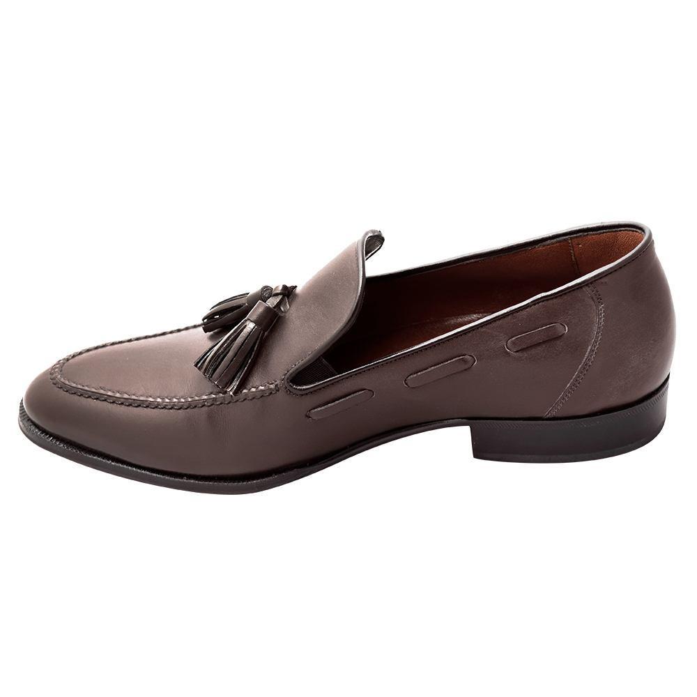 Sapato Masculino Tassel Loafer Marrom Café 716CRCAF