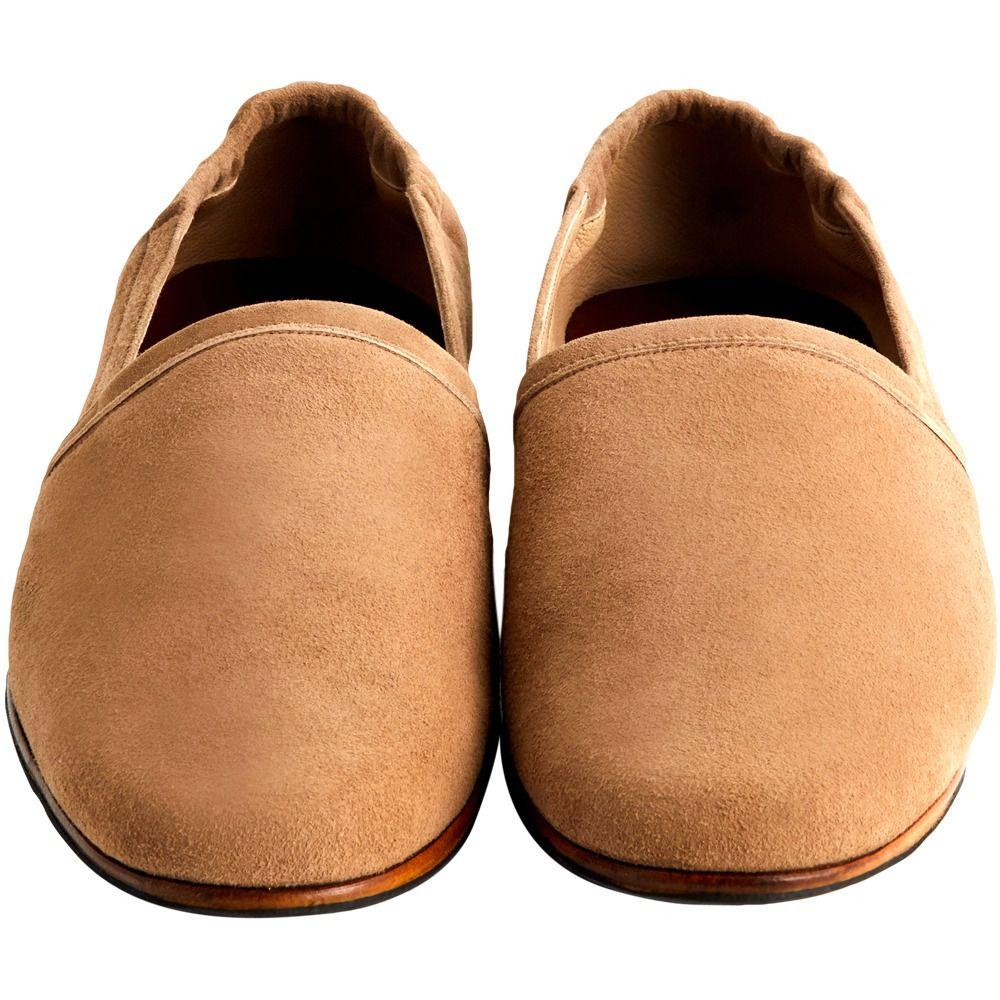Sapato Alpargata Masculina em Camurça 600TAU