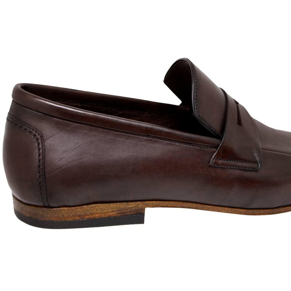 Sapato Masculino Loafer cor Marrom Café 111MLVCAF
