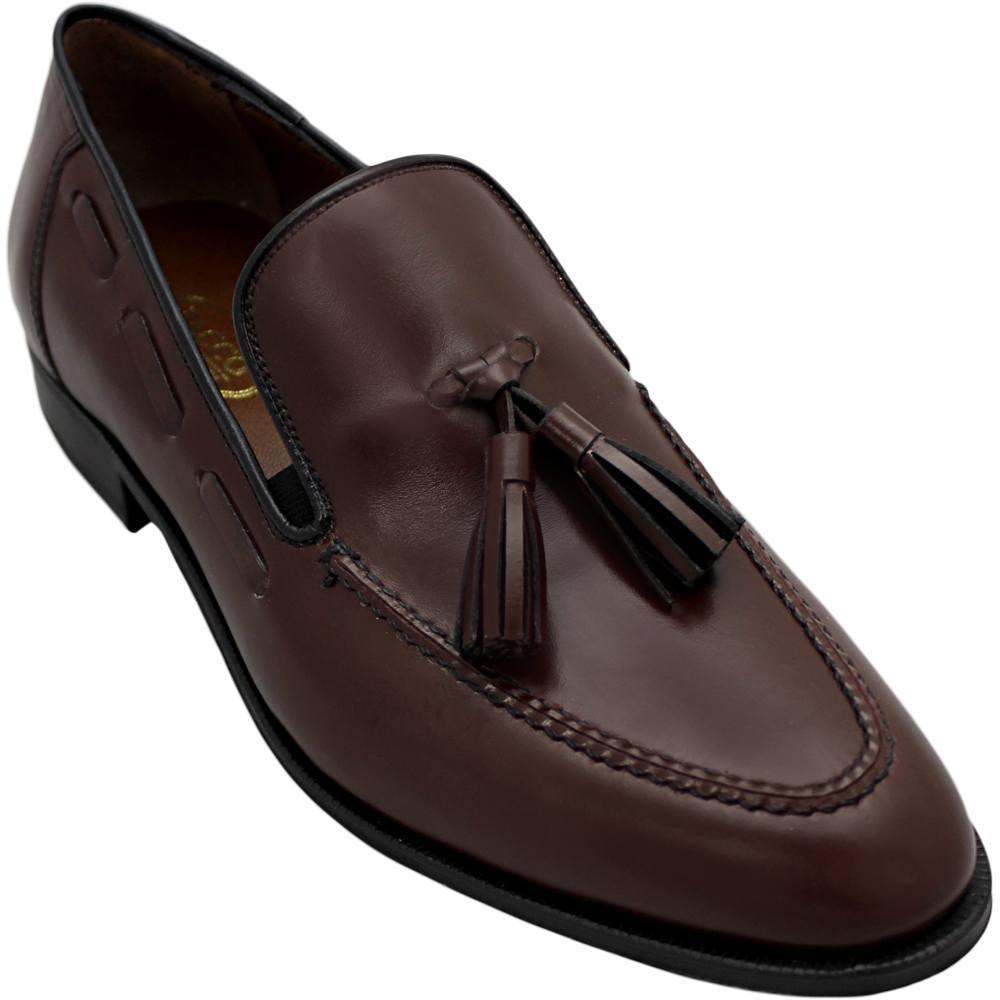Sapato Masculino Tassel Loafer cor Pinhão 716CRPIN